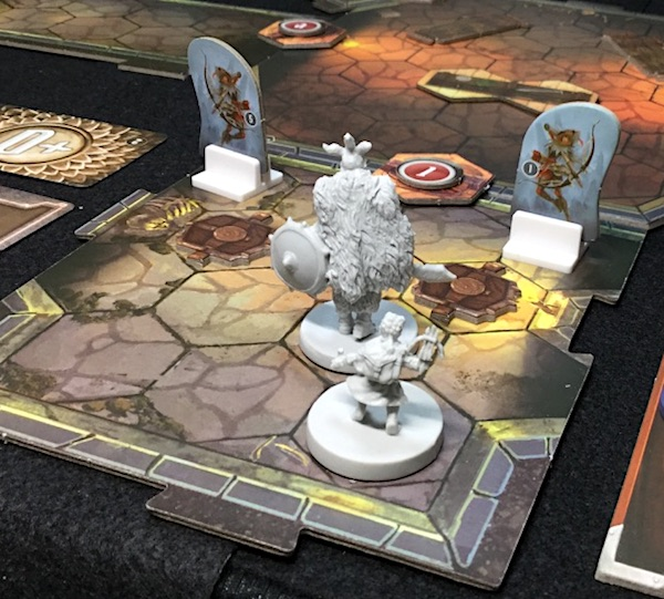まさかの時のボードゲーム Gloomhaven (S2) シナリオ #2 Barrow Lair [2] ラウンド1-4