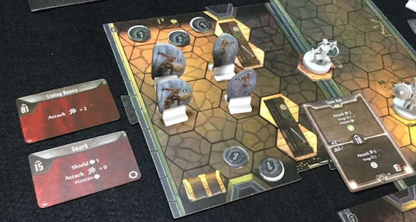 まさかの時のボードゲーム Gloomhaven (S1) シナリオ#1 Black Barrow [4] ラウンド 7-最後