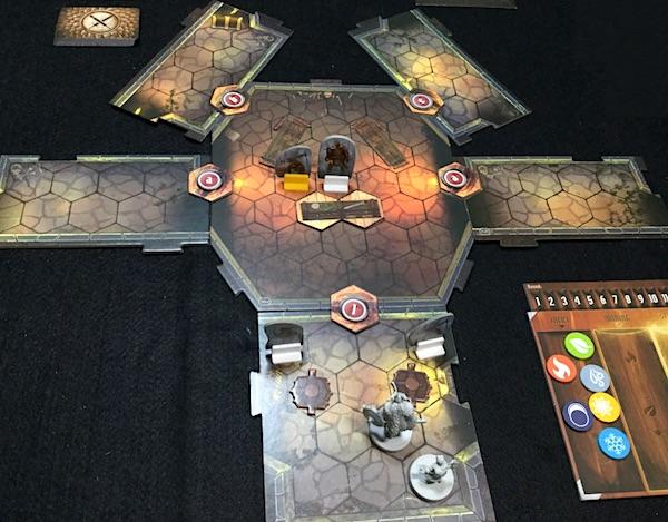 まさかの時のボードゲーム Gloomhaven (S2)  シナリオ #2 Barrow Lair [1] 突入前