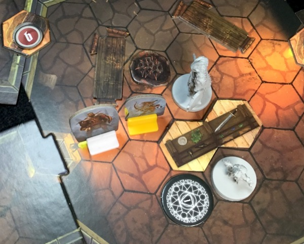 まさかの時のボードゲーム Gloomhaven (S2) シナリオ #2 Barrow Lair [3] ラウンド5-7